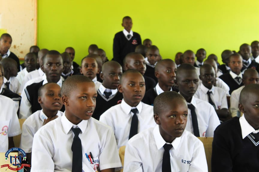 Students follow section keenly